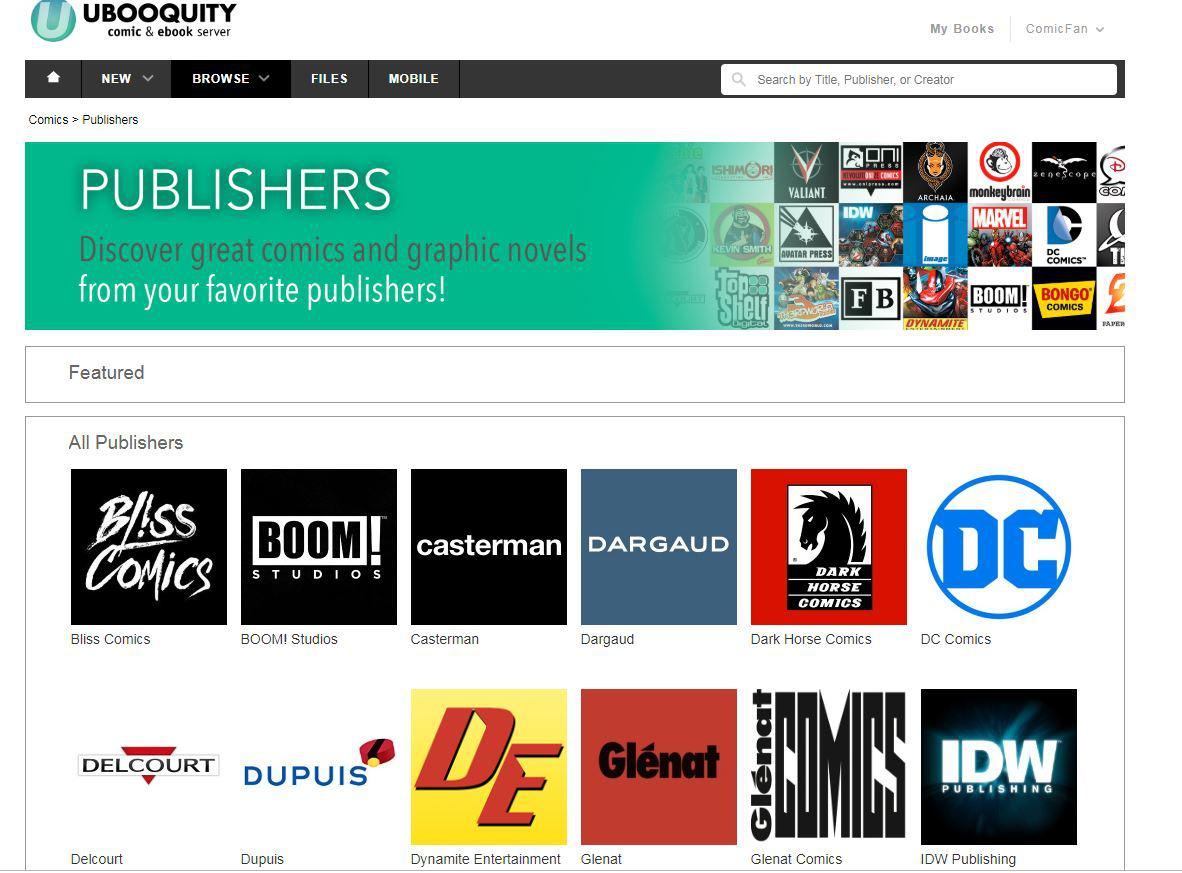 Comixology Theme V2 finally released! / General / Ubooquity